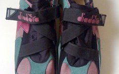 Diadora oldschool MTB Schuhe Gr.45 + SPD Cleats