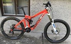 Kraftstoff TEAM DH Komplettbike