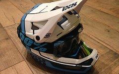 Ixs Xult, 100% Aircraft Helm / Brille Set, L / XL