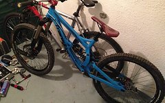 Transition Bikes TR 250 in Blau