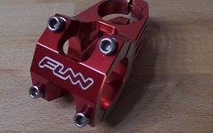Funn 45mm FUNNDURO Vorbau rot Version mit TITANSCHRAUBEN nur 117 Gramm