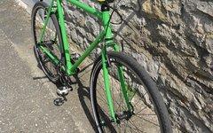 Singlespeeder Froschgrün Singlespeed Bike