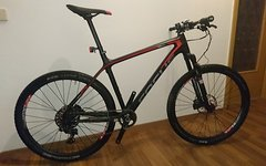 Focus Raven 27R 5.0 2015 Carbon, red/grey + Tune LRS