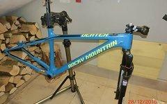 Rocky Mountain Vertex 970 RSL Rahmenset