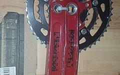Race Face Turbine Lp Dh Tomac Special Edition Retro Turbine LP Tomac DH Kurbel Retro mit 4-Kant und 3-fach Race Face 9-fach Kettenblätter