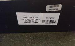 SRAM X01 Eagle Kurbel BB30 - 1x12-fach - 32T DM - rot 175 mm