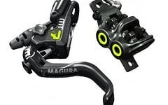 Magura MT7 HC, Weekend Deal 1-Finger HC-Hebel, links/rechts verwendbar, 2.200 mm Leitungslänge, Set VR+HR, 2018