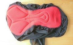 Mavic Red Rock Undershort schwarz Groesse XL Neu mit Sitzpolser