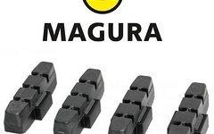Magura 4x Bremsgummi schwarz***NEU***