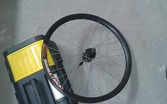 """Sun Double Track 24"""" 135 mm Schnellspanner HR"""