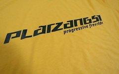 Platzangst T-Shirt Größe S gelb
