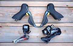 Shimano DURA ACE R9150Di2 Schaltgruppe FD+RD+ST R9170 Schalthebeln für Scheibenbremsen