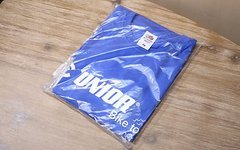 Unior T-Shirt / Fruit of the Loom Größe: L blau
