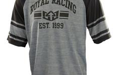 Royal Racing Graduate Jersey / Trikot L schwarz/grau *ungetragen*