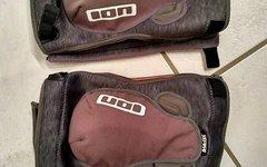 ION K Lite Zip Knieprotektor grau (XL)