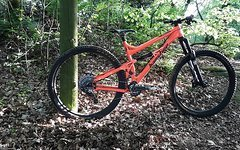 Banshee Prime Gr. L Neon Orange 29er Enduro / All Mountain ***** TOP *****