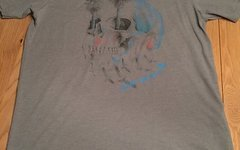 Fox T-Shirt, grau Gr. L