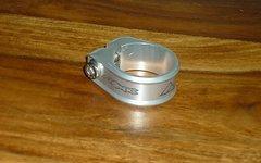 Azonic CNC Sattelklemme 34,9mm Silber Neu