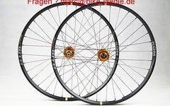 """WTB Kom i25 650b TCS Laufradsatz mit Hope Pro 4 EVO Naben 27,5"""" Alle Einbaumasse **1780 g**"""