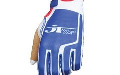 Jt Racing Flex Feel Performance Gloves Blue/ White XS