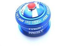 Aest semi integrierter Steuersatz ZS44 1 1/8 Zoll blau