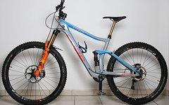 Cube Stereo 140 C68 Original Action Team Carbon Mountainbike MTB Shimano XTR Di2 Saint Fox Factory 36 Transfer