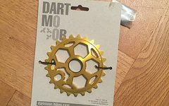 Dartmoor BMX DIRT Kettenblatt 25 Zähne NEU Fetish Gold