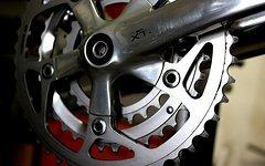 Shimano XTR Kurbel inkl. Vierkanntlager