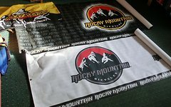 Rocky Mountain Grosser Banner!!!Sehr Selten!!!!!Schwarz!