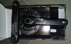 """SRAM X5 Fatbike Kurbel GXP - 34/22 - 4"""" - 170 mm"""