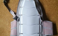 Dainese D-Tec Rückenprotektor weiß