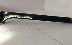 Merida Carbon Ultralite 27.2 x 350 mm, grün/ weiß