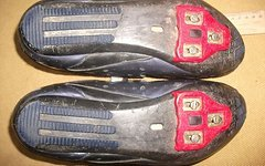 Adidas Rennrad-Schuhe Girano, Größe 45 1/3, schwarz/blau