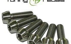 Tuning Pedals Titan Schrauben M5 x 8 / 10 / 12 / 14 / 16 / 18 / 20 / 25 / 30 / 35 /40 / 45 /50 mm , DIN912 konisch, Grade 5