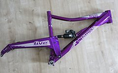 "Orange Bikes Uk Five 650B 27,5"" Rahmen Deep Purple Größe L"