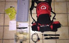 Ergon BE2 Enduro Rucksack mit Ergon  BP100 Protektor