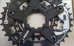 Rotor Kettenblatt XC2 MTB, 5-Arm, Q-Rings 36/22, 110/60