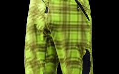 Troy Lee Designs Gr.32 RUCKUS SHORT PLAID LIME GREEN