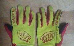 Troy Lee Designs Handschuhe rot gelb XL