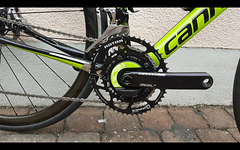 Cannondale HollowGram SiSL2+Power2Max  Leistungsmesser Rotor Q rings