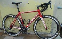 Colnago Strada SL mit Ultegra 2x10 und Cosmic Carbone