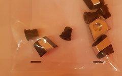 Shimano Kettenblattschrauben für XTR FC-M980 2fach ** nagelneu**