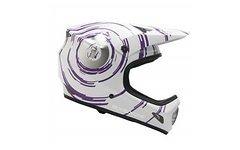661 SixSixOne EVO Inspiral, weiß/purple Gr. L 59-60 cm