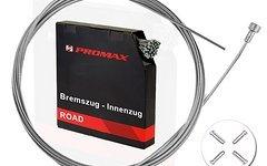 Promax 2x Bremszug Bowdenzug Bremsseil 1,5mm 2m mit Endhülsen, Rennrad, Fixie, Cyclocross