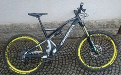 "Orbea Rallon X - Team ""tuned"" Gr. M"