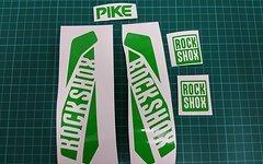 Rock Shox Pike 2016 Decal Set verschiedene Farben