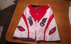O'Neal Element Shorts rot/weiss MINAAR Gr.32