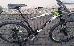 """Merida BIG.NINE Team 2018 Fahrrad Mountainbike, RH XL (21""""), carbon/weiß/grün"""