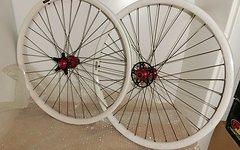 Laufradsatz Hope Bulb auf Mavic 729 gepulvert