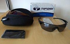 Tifosi Radbrille Podium mit Wechselscheiben und Tasche NEU